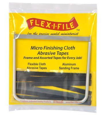Flex-i-File Micro Finishing Tapes