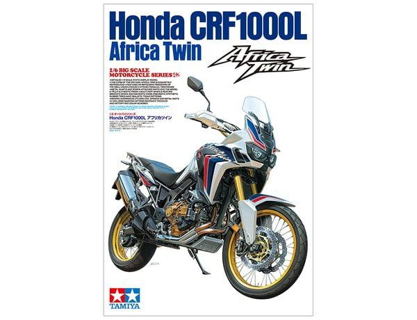 Tamiya Africa Twin Motorcycle 1/6 Scale