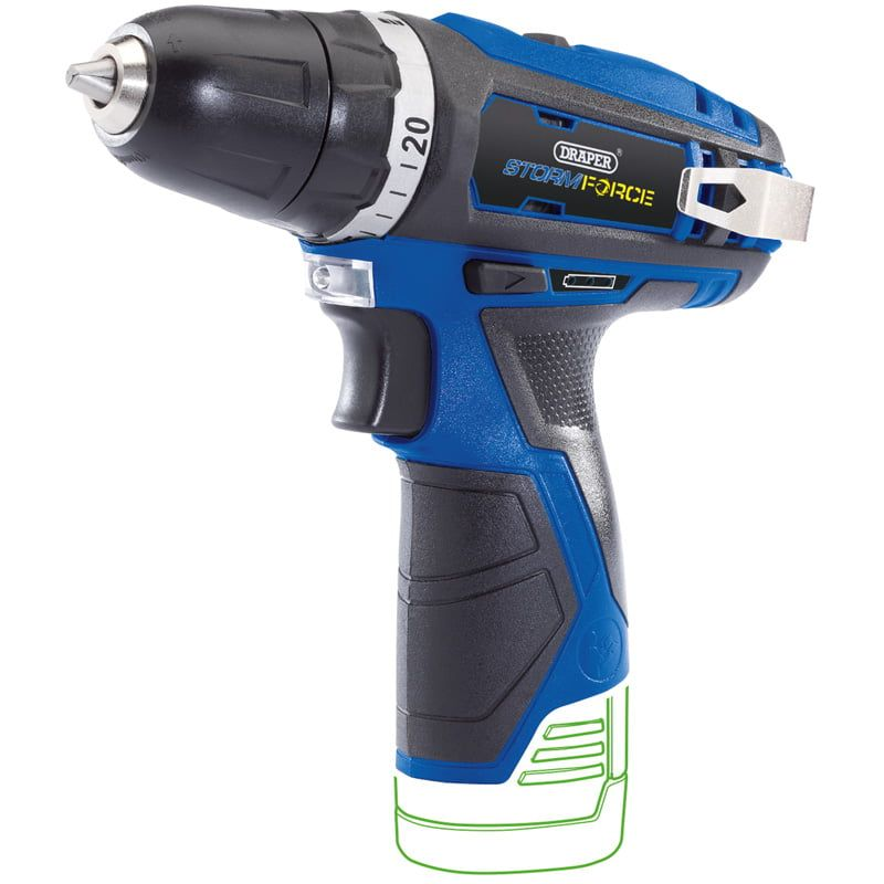 Draper Storm Force 10.8V Cordless Rotary Drill BARE (No Battery)