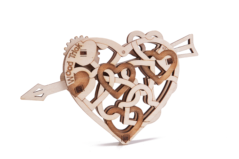 Wood Trick Heart
