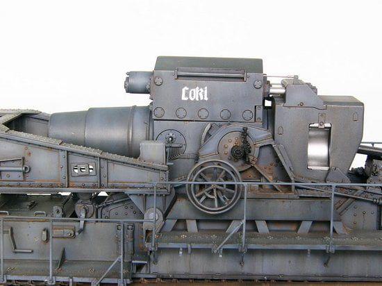 Trumpeter 1  35 Morser Karl-gerat 040  041 - 00209
