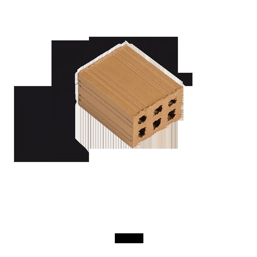Aedes Ars Red Brick 15 x 20 x 10 (Pack of 25 Bricks)