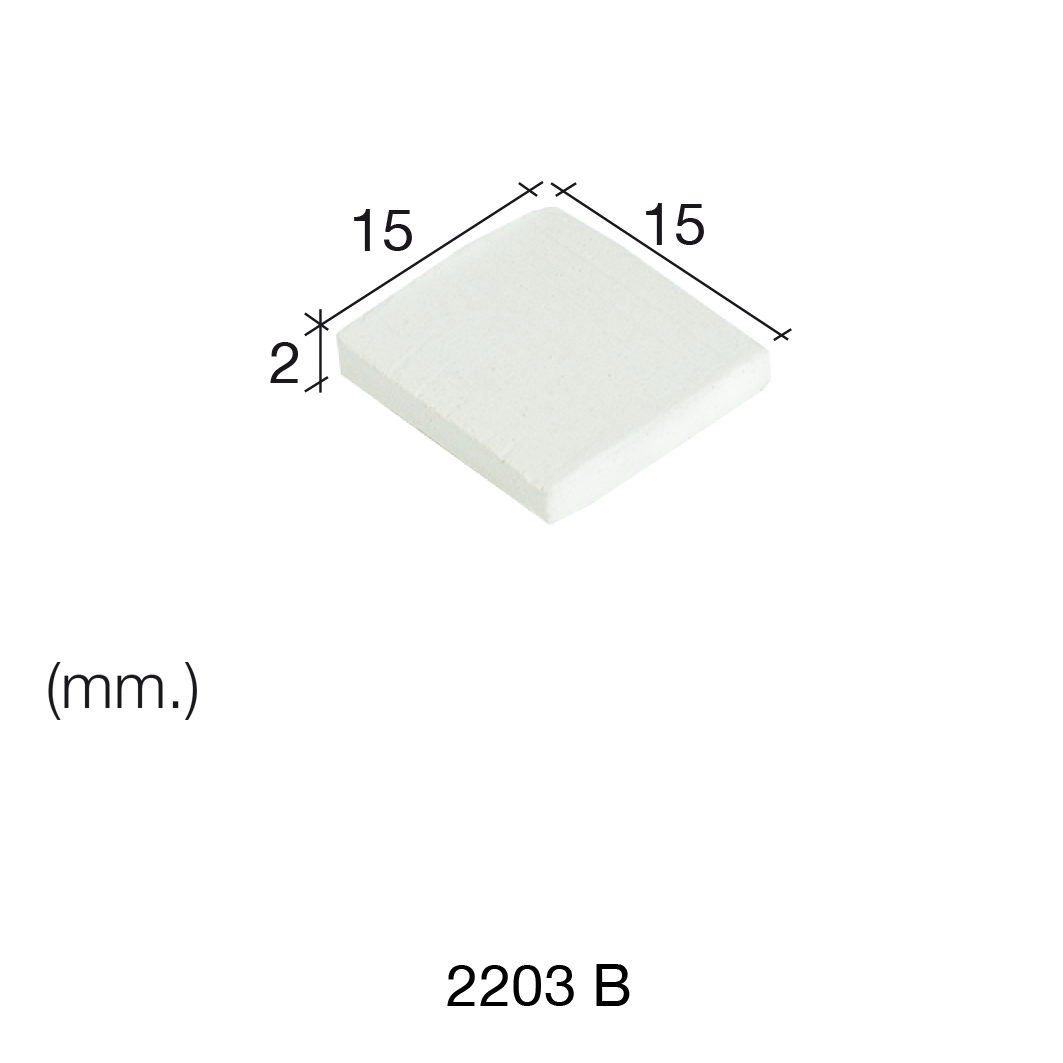 Aedes Ars White Tile 15 x 15 x 2 (Pack of 150 Tiles)