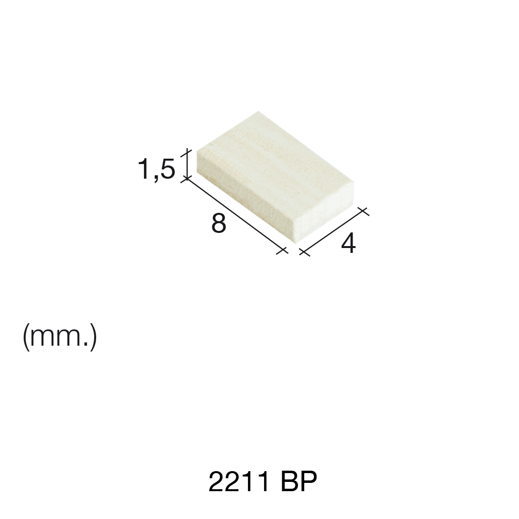 Aedes Ars Extra Small Mottled Tile 4 x 8 x 1.5 (Pack of 700 Tiles)