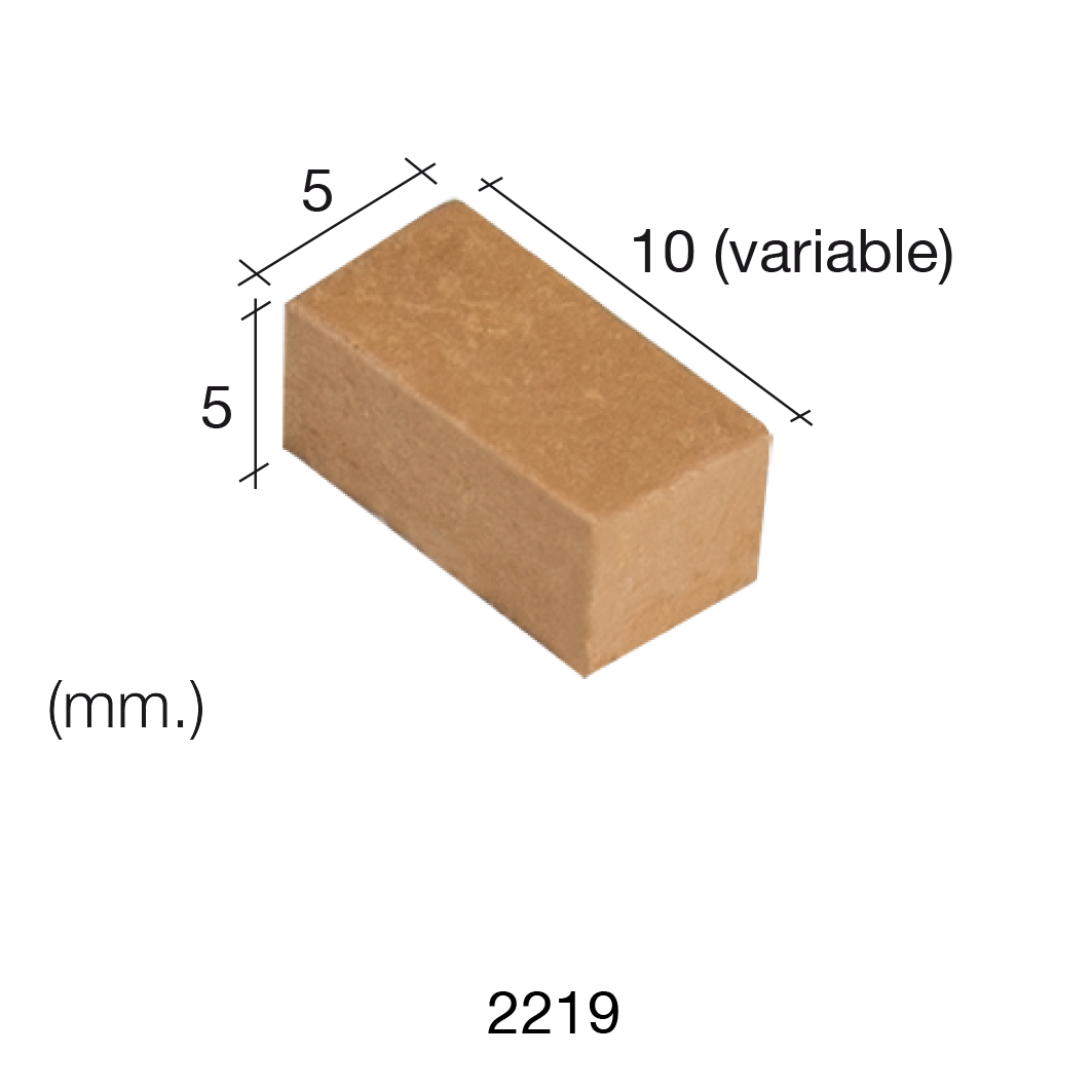 Aedes Ars Red Wall Stone 5 x 10 x 5 (Pack of 300 Stones)
