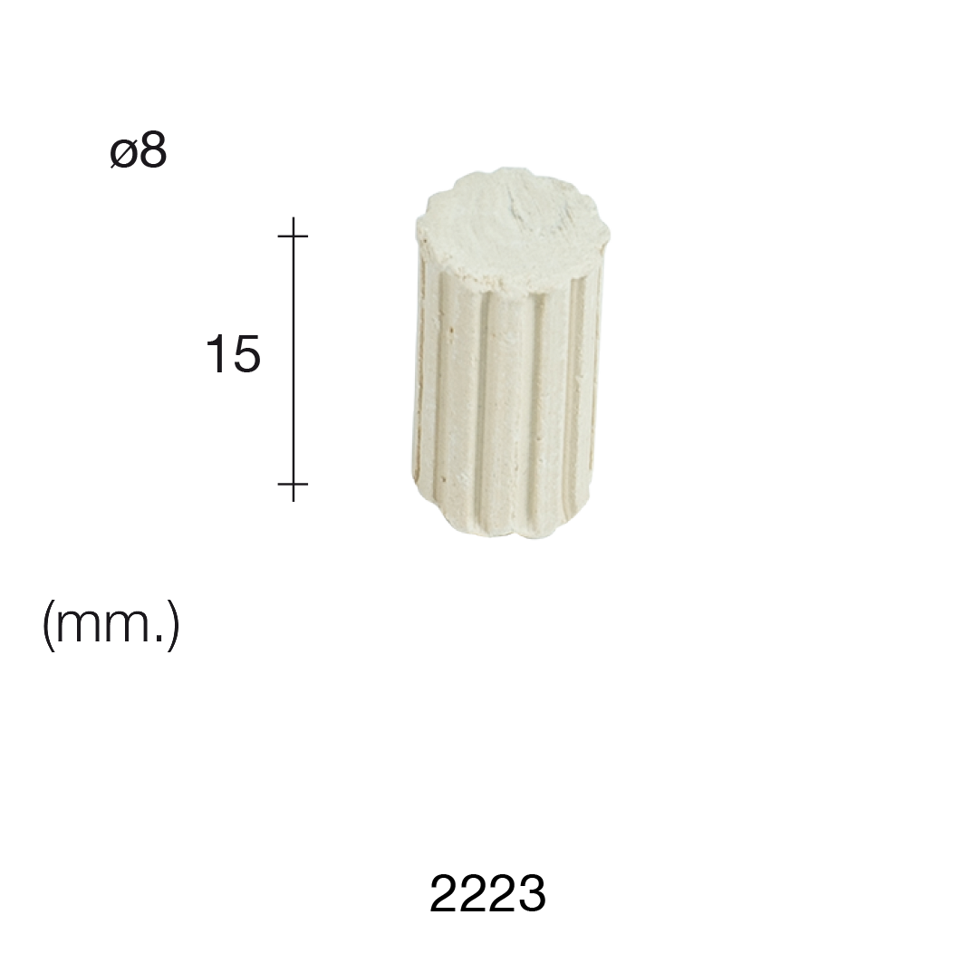 Aedes Ars Small Greek Column 8 x 15 (Pack of 50 Columns)