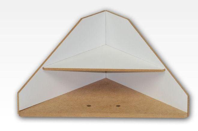 Hobbyzone End Corner Shelves Module Crafts Workshop Modular System