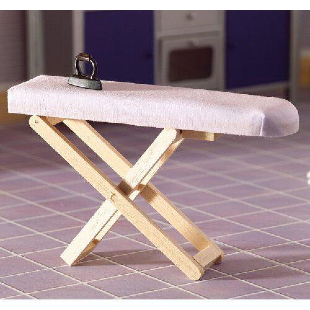 Collapsible Ironing Board 1 12 Scale for Dolls House