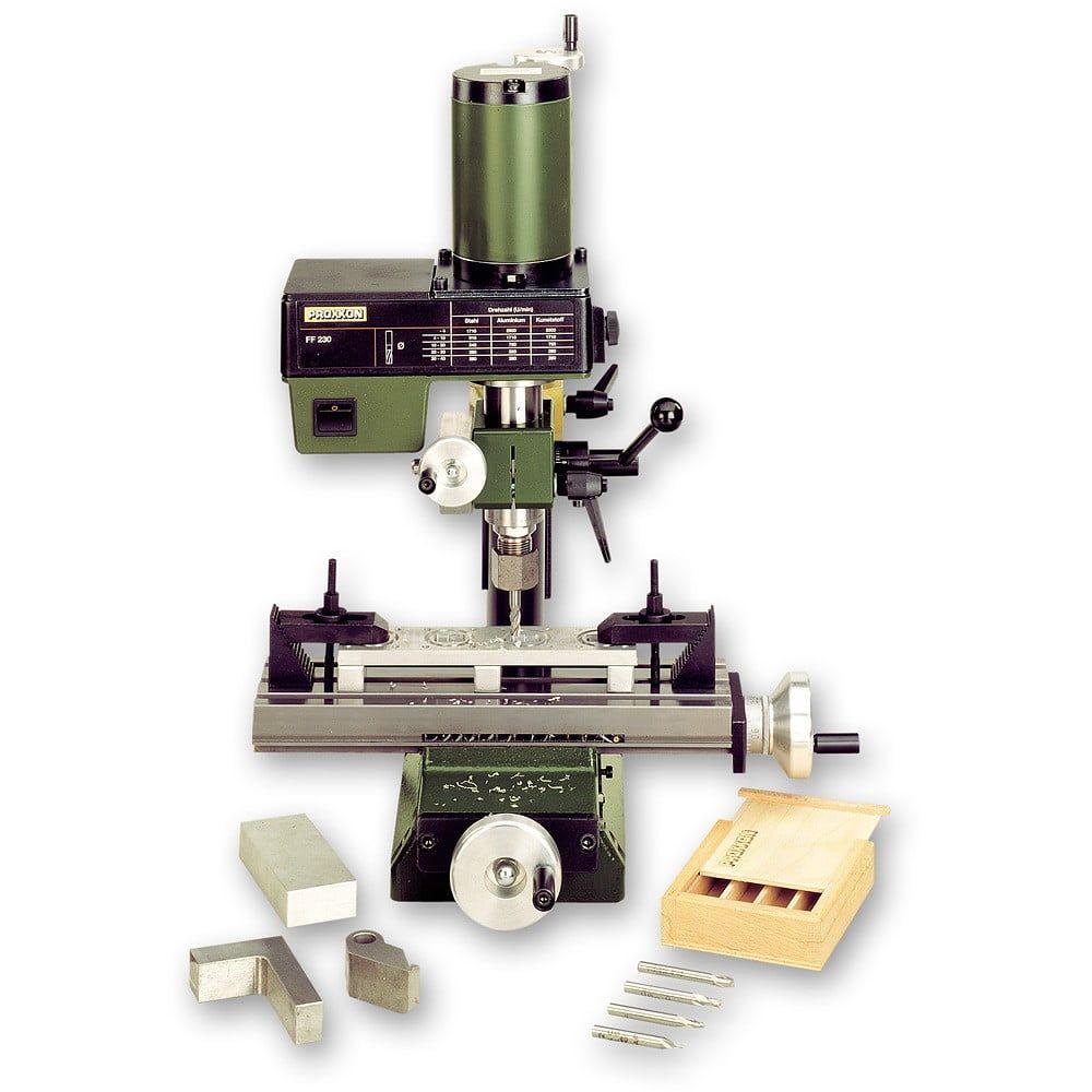 Proxxon FF 230 Micro Mill - 5 Piece Proxxon Collet Set Ff 230 Micro Mill