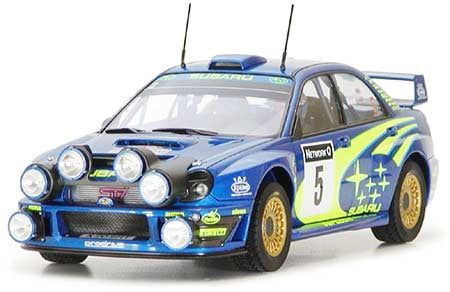 Tamiya Sabaru Impreza WRC 2001 Kit