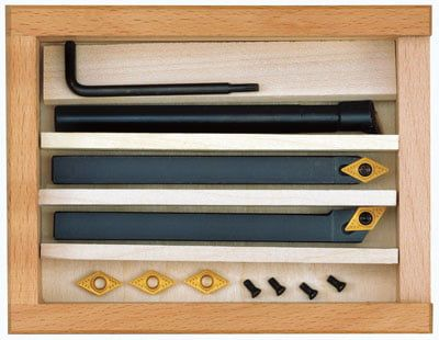 Proxxon Cutter set with tungsten inserts for PD 230E - Cutter Set For Pd 400