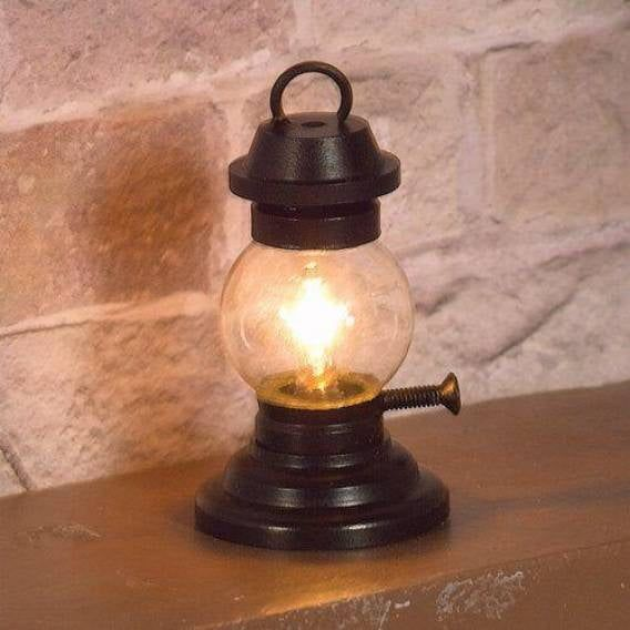 Traditional Victorian Tilley Lamp for 12th Scale Dolls House 12V