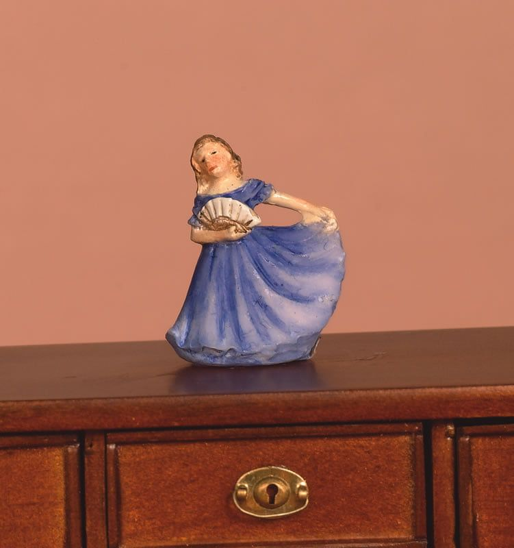 Orange or Blue Lady Ornaments