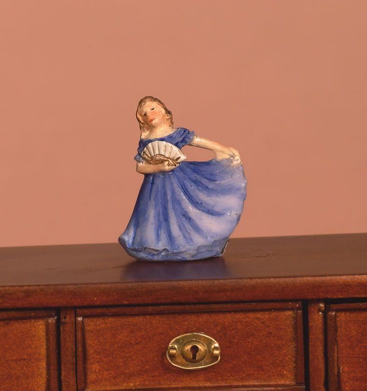 Orange or Blue Lady Ornaments - Orange Lady Ornament