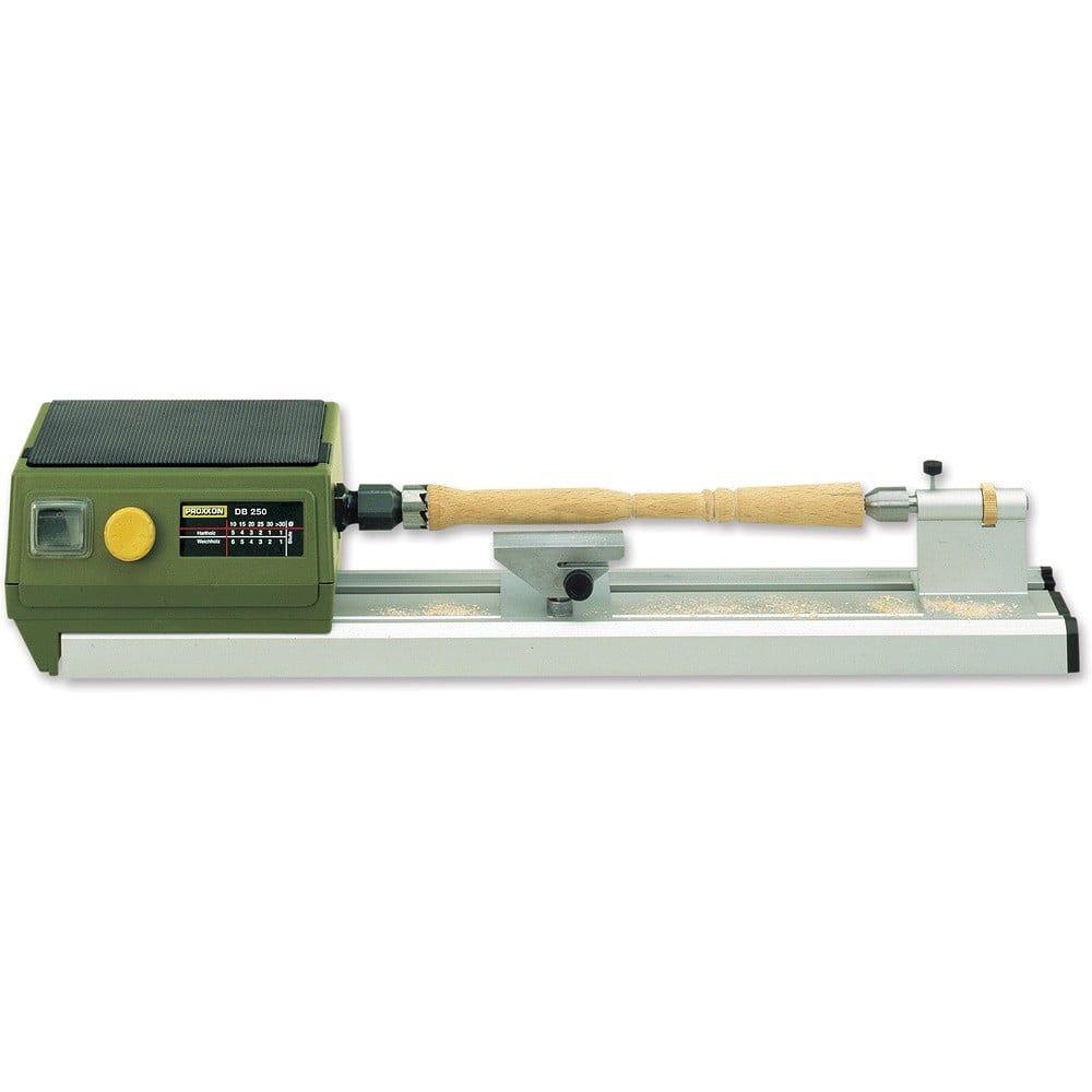 Proxxon DB 250 Micro Woodturning Lathe - Proxxon Self Centering 3 Jaw Chuck