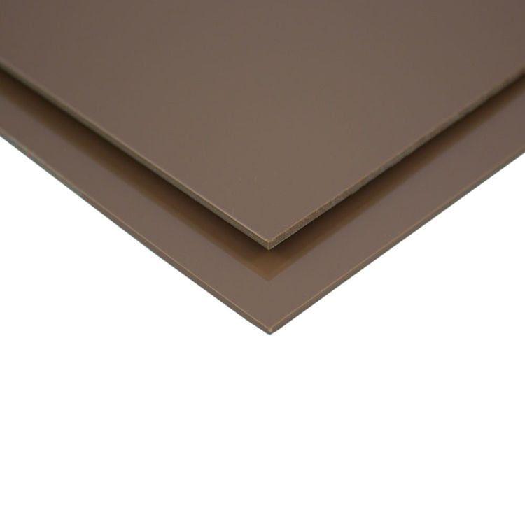 PVC Clear Brown Sheet