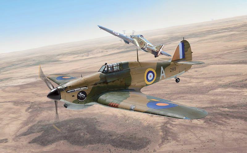 Italeri Hurricane Mk.1 Trop Kit