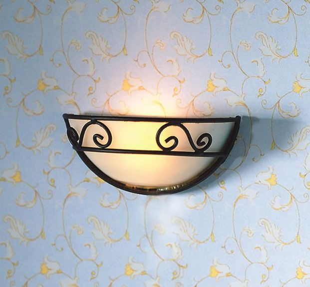 Scrollwork Wall Light 1:12 Scale for Dolls House by Dolls House Emporium