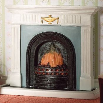 Fireplace with Hearth