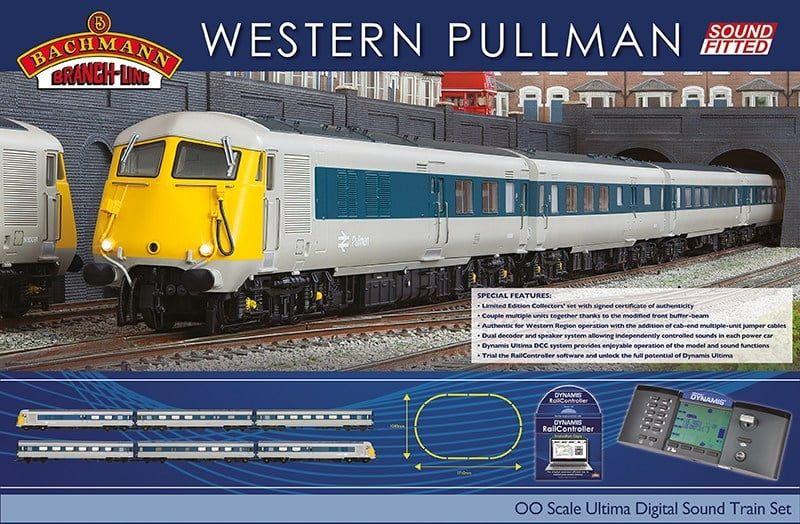 Branchline Western Pullman Ultima Digital Sound Train Set