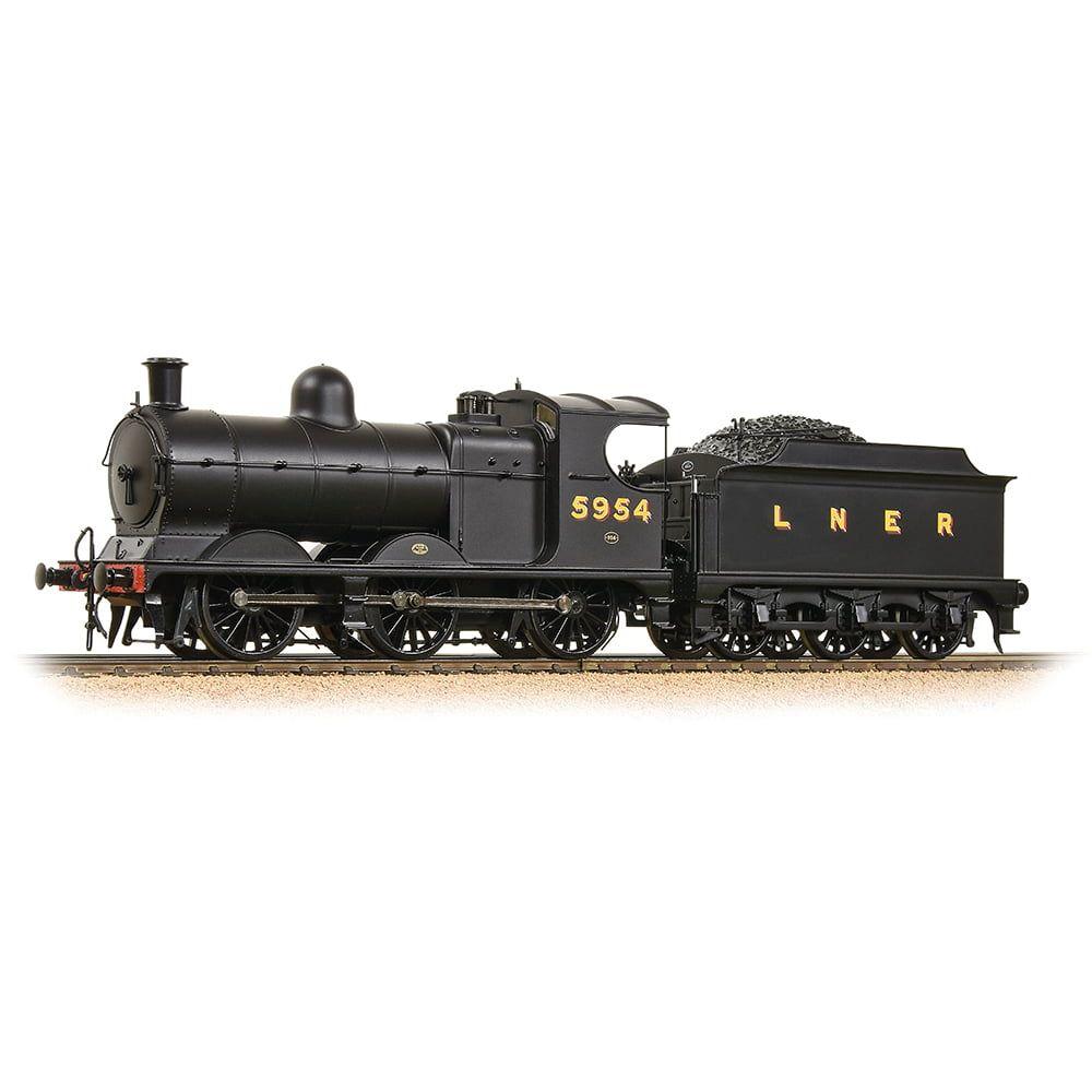 Robinson Class J11 (GCR 9J) 5954 LNER Plain Black