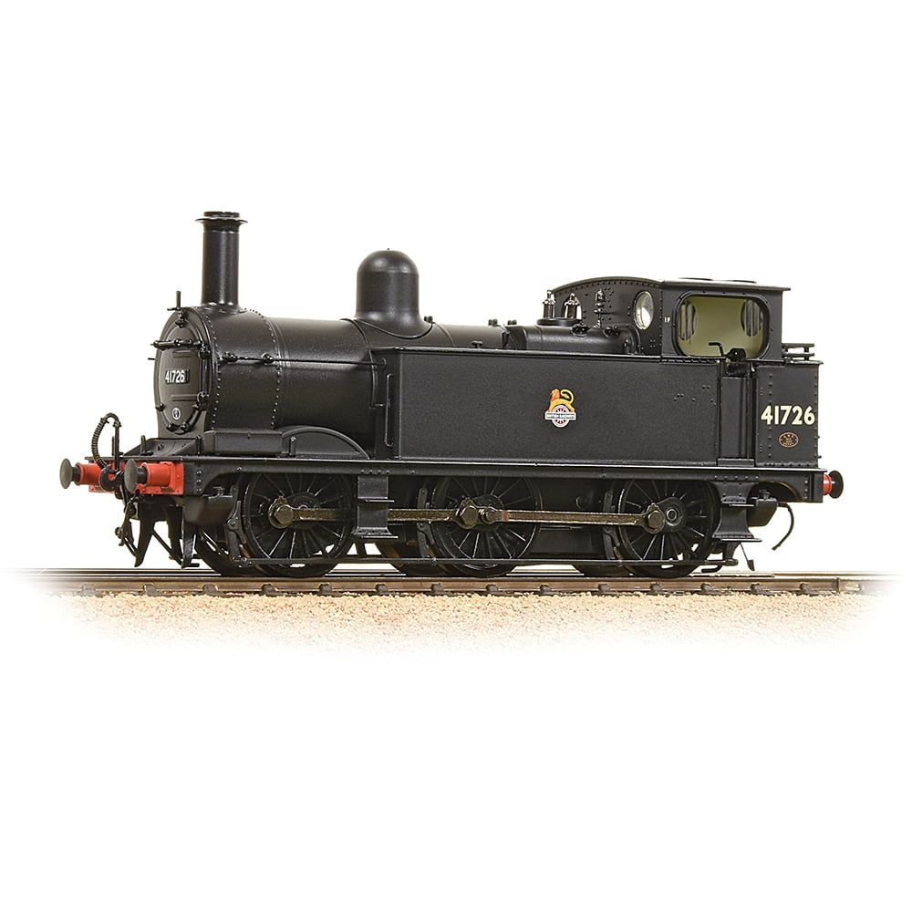 Midland Class 1F 41726 BR Black Early Emblem Vacuum Fitted Enclosed Cab