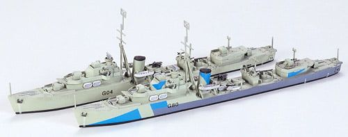 Tamiya British Destroyer O Class 1:700 Scale