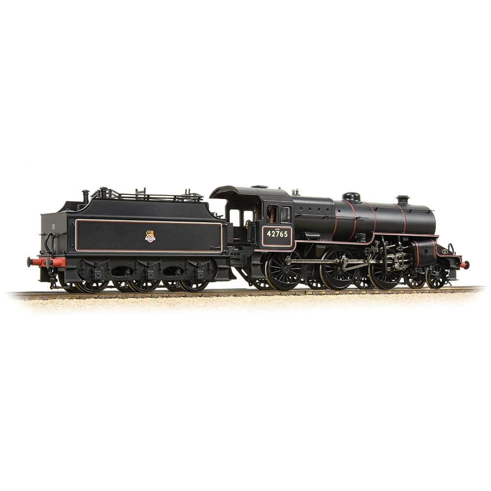 Crab 42765 BR Lined Black Early Emblem Welded Tender with Coal Rails