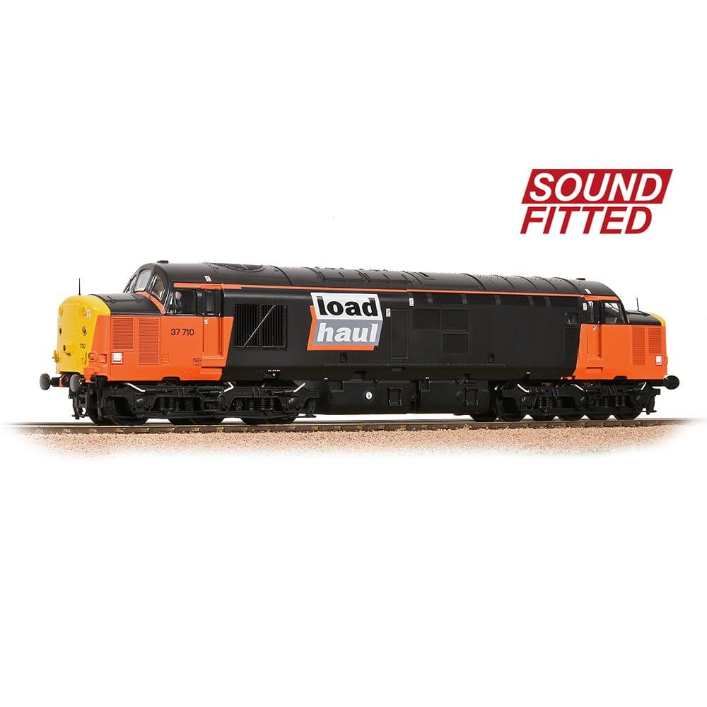 Class 37 4 37710 LoadHaul BR Freight With DDS Sound Fitted