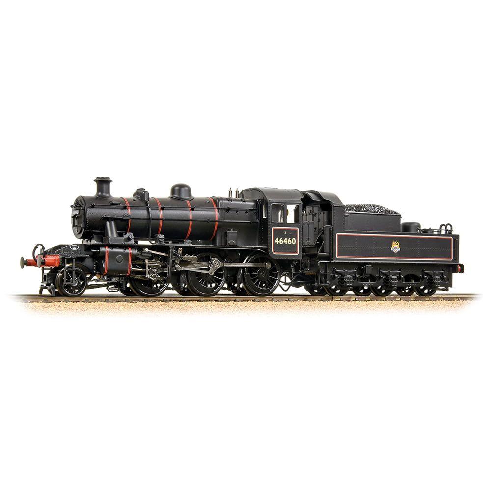 Ivatt Class 2MT 2-6-0 46460 BR Lined Black Early Emblem