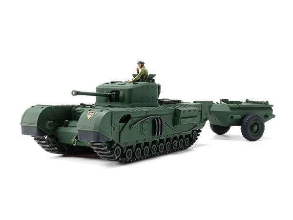 Tamiya Churchill Mk.VII Crocodile