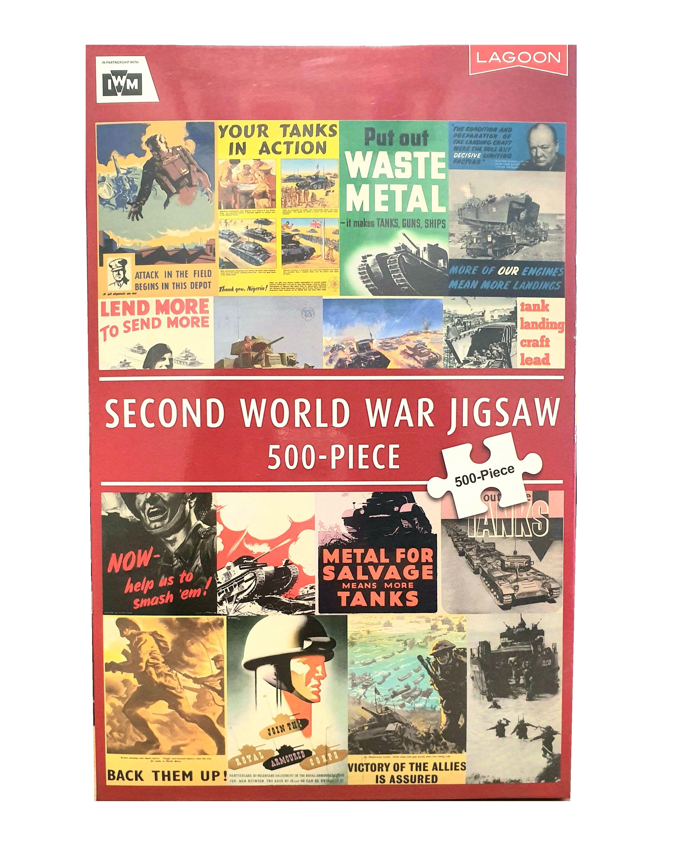 Second World War Land Jigsaw