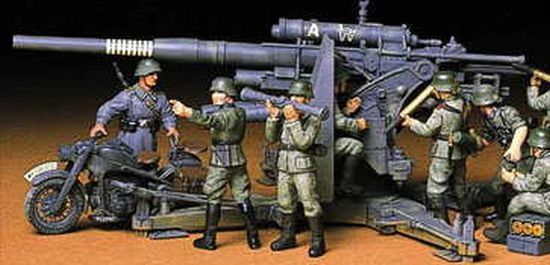 Tamiya German 88mm Gun Flak 36 37