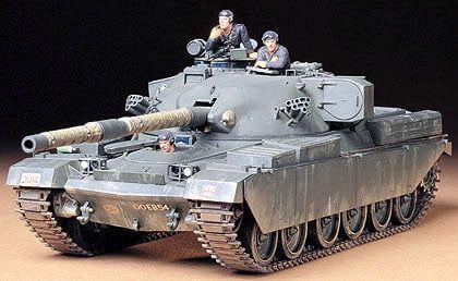 Tamiya British Army Chieftain Tank Mk.5 1:35th Scale Plastic Model Kit