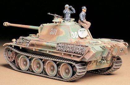 Tamiya German Panther Type G Late Version 1:35 Scale Detailed Plastic Model Kit