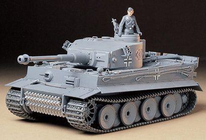 Tamiya Tiger I Early Production Plastic Model Kit