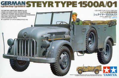 Tamiya German Steyr Type 1500A 01 1:35th Scale Plastic Model Kit