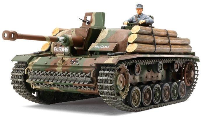 Tamiya Sturmgeschutz III Ausf.G Tank Finnish Army Stug III