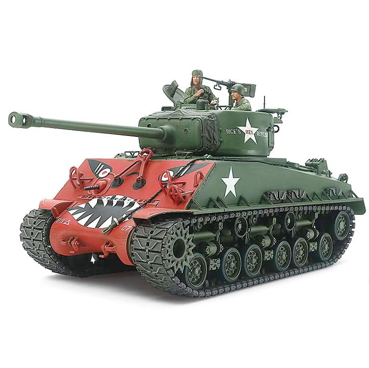 "Tamiya ""Easy Eight"" U.S. Sherman Tank M4A3E8"