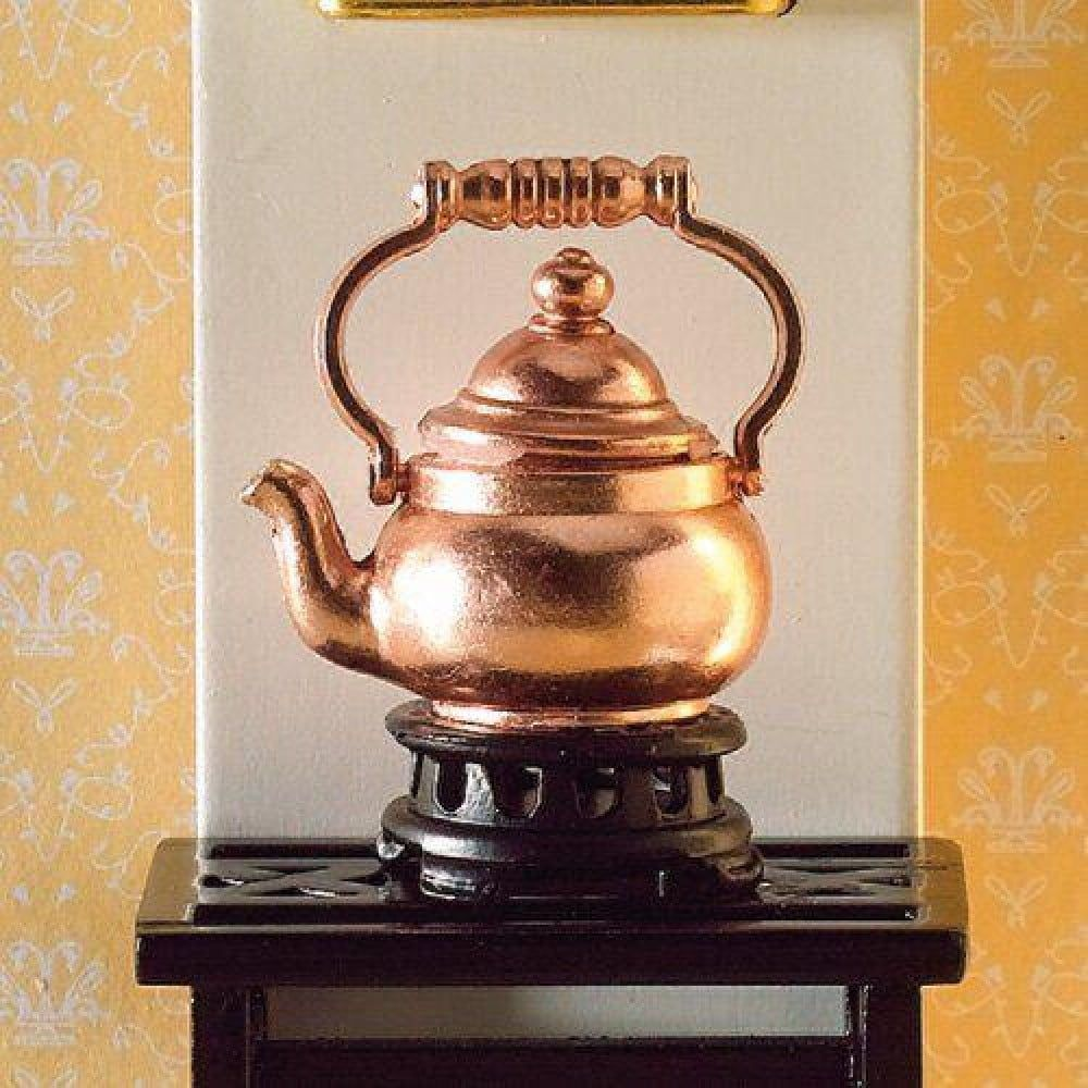 Copper Kettle and Trivet