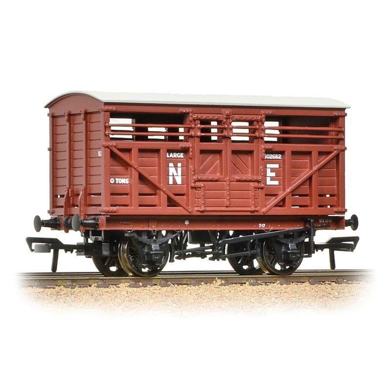 Branchline 12 Ton LMS Cattle Wagon NE Brown 37-706A