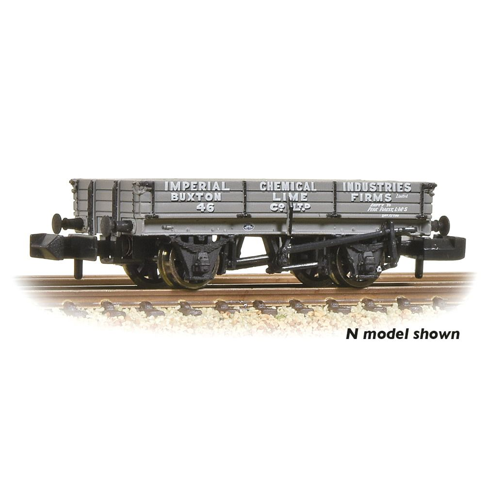 Branchline 3 Plank Wagon 'ICI Buxton Lime' 37-925A