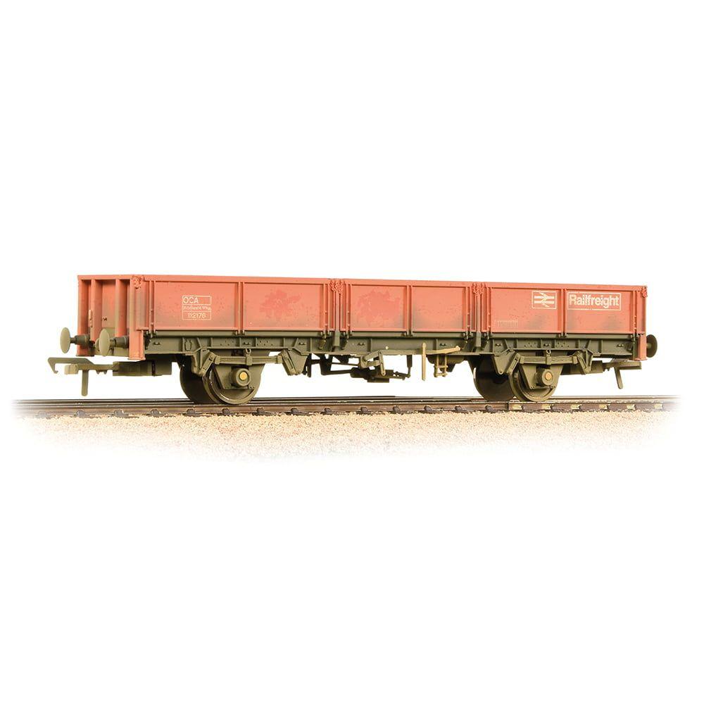 Branchline 31 Tonne OCA Dropside Open Wagon Railfreight Red - Weathered 38-056B