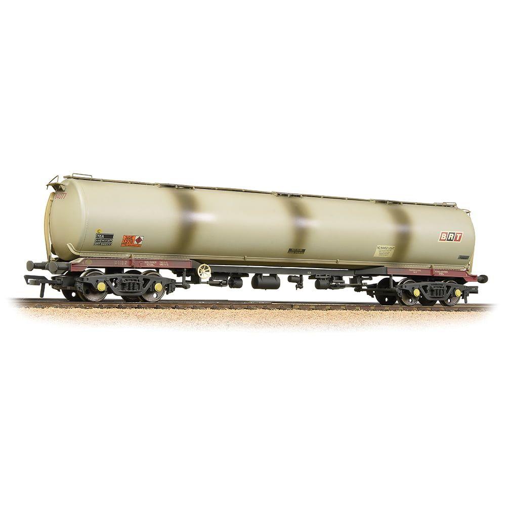 "Branchline BR 102T Tea Bogie Tank Wagon ""Shell"" (BR Rf) Grey 38-118"