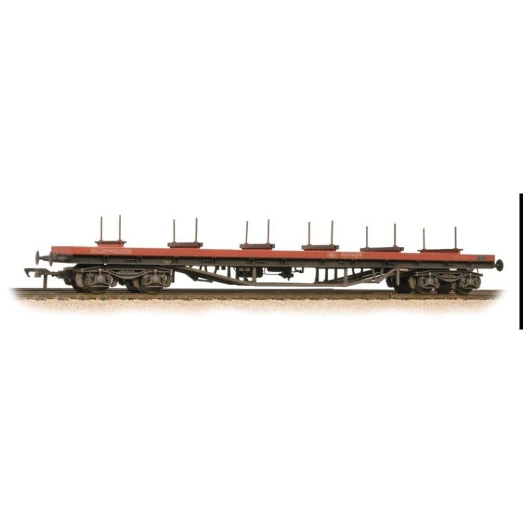 Branchline BDA Bogie Bolster Wagon BR Railfreight Red Weathered 38-151C