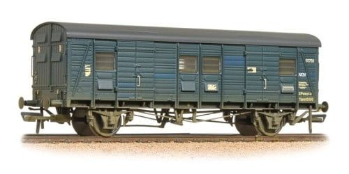 Branchline Ex-Southern CCT Covered Carriage Truck BR Blue Weathered 39-528A