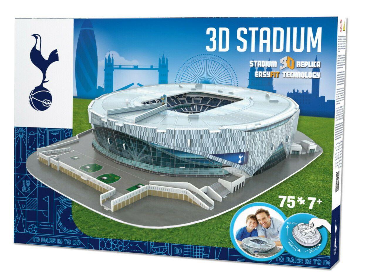 3D Tottenham Hotspur Football Club New Stadium Model Kit