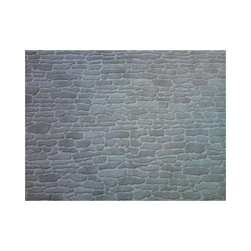 Grey Stone External 1:12 Scale Quality Dolls House Wallpaper