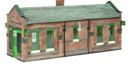 Branchline Great Central Waiting Room Green and Cream 44-116A