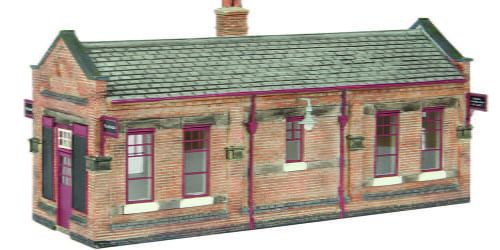 Branchline Great Central Waiting Room Maroon and Cream 44-116C